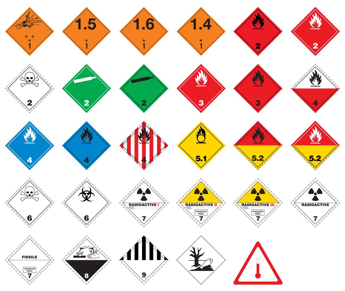 Hazardous goods courier Derby